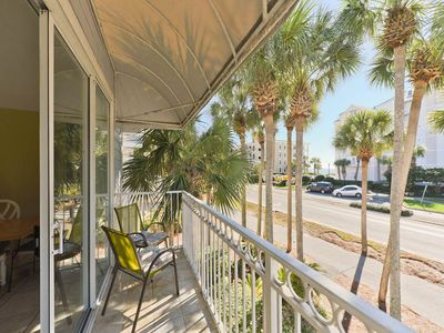 Photo for Updated, bright condo, Steps to the beach, Close to entertainment