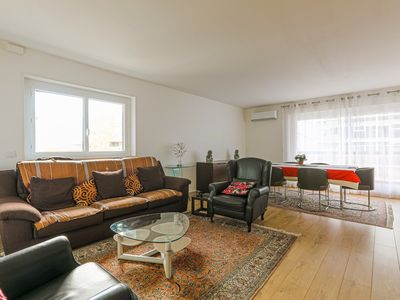Photo for ESPLANADE CHARLES DE GAULLE WITH AIRCON, PARKING, ELEVATOR AND BALCONY, SPACIOUS AND BRIGHT...