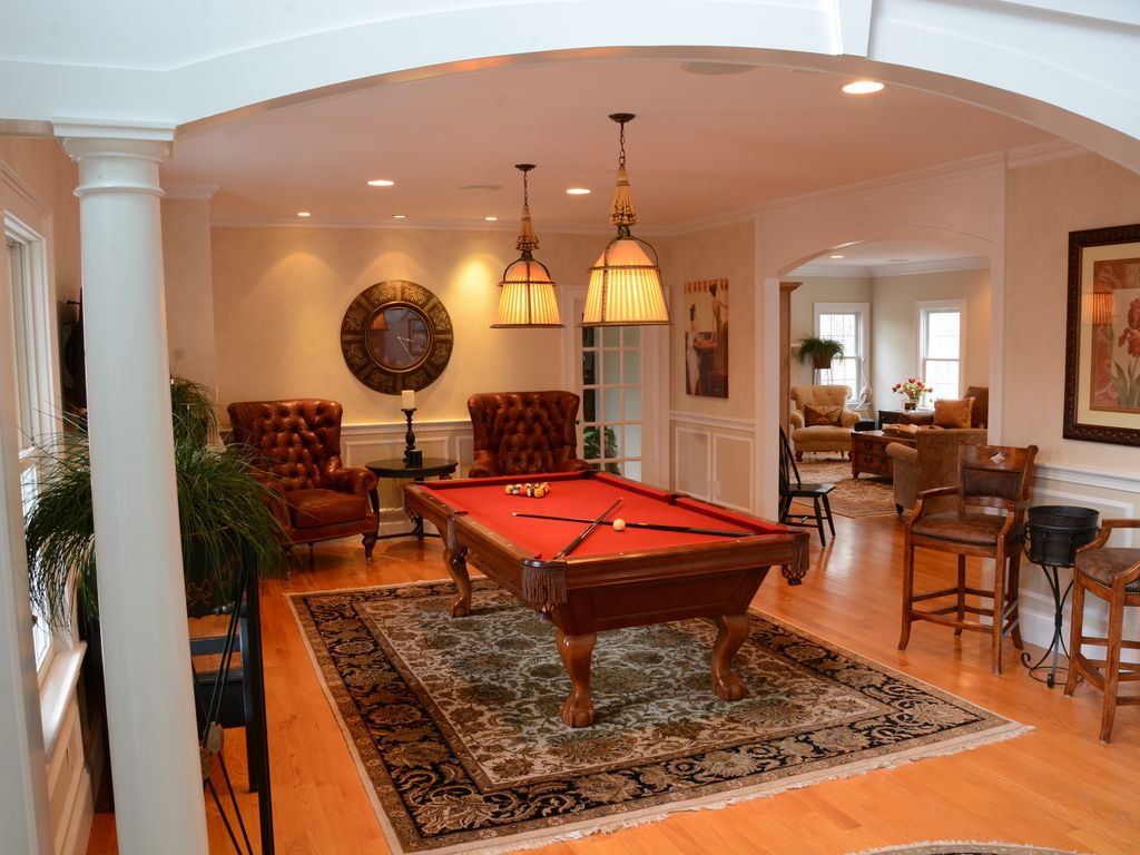 Incredible 4 Acre Estate Pool Home, Lighted...   HomeAway West Barnstable