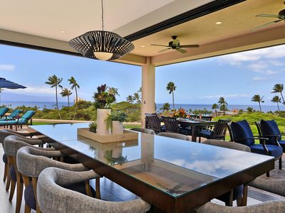 Photo for Magnificent Ocean Views from this Luxury Home in  Kaanapali ! Sleeps 10