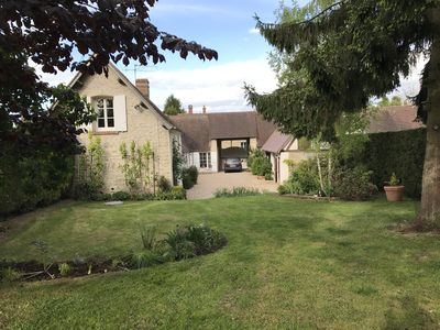 Photo for Charming Normandy Vexin farmhouse near Giverny 1 hour from Paris