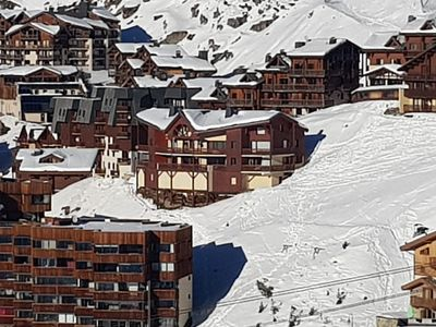 Photo for Val Thorens 72 M2 small chalet 2 apartments 10 pers- tres quiet-wifi-2 garage