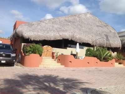 Photo for Beautiful 4 bed 4 bath Palapa house with views and wifi, private gated community