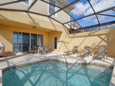 Photo for ★ COZY DESIGN HOME 5 BEDRM/5.5 BATHS / PRIVATE POOL AT SOLTERRA RESORT