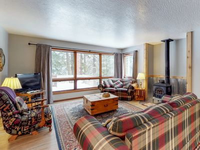 Photo for Spacious townhouse on the golf course, only moments from lake & ski resorts
