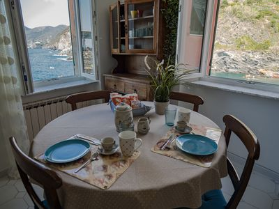 Photo for 1BR Apartment Vacation Rental in Vernazza