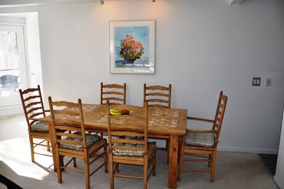 Dining area - Seating for 6 in the area on the main floor