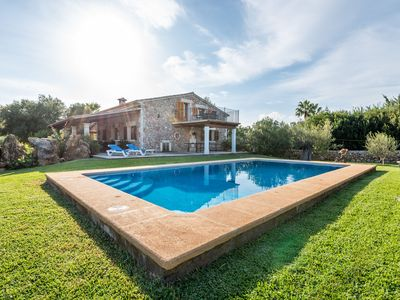Photo for Family-friendly natural stone villa with pool – Villa Can Miguel