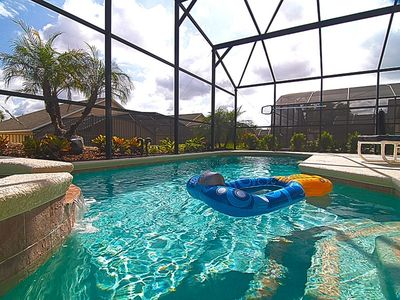 Photo for EMERALD ISLAND (8547SK) - Amazing 4BR 3BA Villa, Pool & Spa, gated Resort 10 min to DISNEY