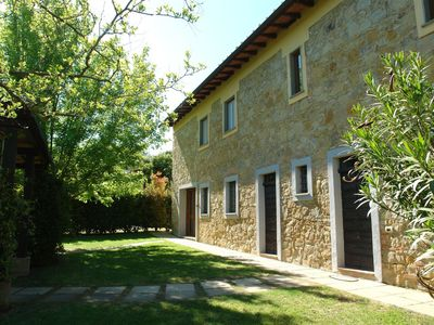 Photo for Wonderful private villa for 10 guests with private pool, TV, pets allowed and parking