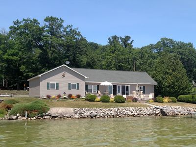 Photo for Mullett Lake/ ON WATER, private, boat & jetski lifts; SUMMER '20 available Now!