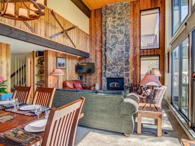 Photo for SKI In - SKI Out!!   Lovely condo looking on the Mt. Werner Ski Area