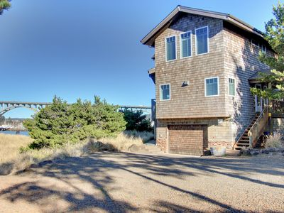 Photo for NEW LISTING! Gorgeous bayfront home w/bay & ocean views -near the beach