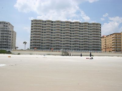 Photo for REDUCED <$99/NT THRU SEPT *****5 STAR PENTHOUSE  OCEANFRONT  NO TRAFFIC  BEACH