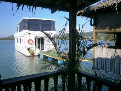 Photo for UNIQUE LUXURY WATER CHALET AND HOUSEBOAT