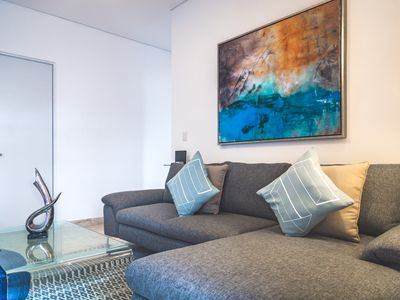 Photo for LUXURY APARTMENT STEPS TO FIFTH AVENUE AND THE BEACH