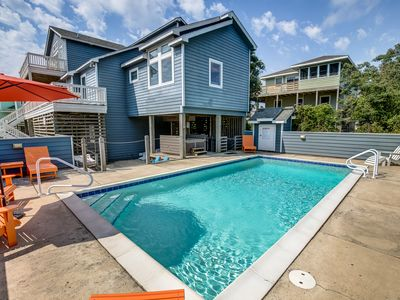 Photo for Lattitude Adjustment | 475 ft from the beach | Dog Friendly, Private Pool, Hot Tub