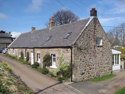 Photo for Chill, relax, walk, cycle, explore at this peaceful Northumberland cottage.