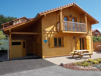 Photo for CHALET COLFER, new, classified 4 stars, 75 m2, 6 to 8 beds