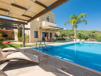 Photo for A New-Built, Tastefully Decorated Traditional Villa, With Private Pool