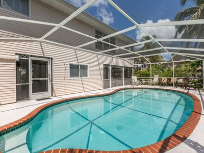 Photo for 3BR w/Private Pool, Walk to Beach, Restaurants, Shops & Attractions
