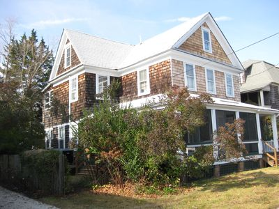 Photo for Year Round Central Heat & Air Conditioned Rental, Walk to Beach, Sleeps 8-10