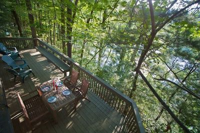 Deck Overlooking the Yough River