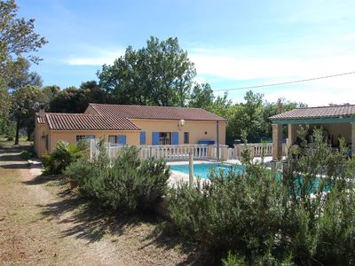 Photo for Villa in shady quiet on 3750m2 closed with private pool and pool house