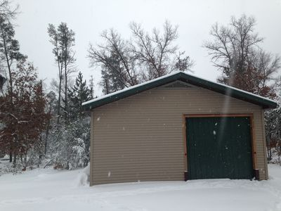 Pole barn available for use by customers