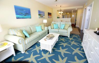 Photo for 2/2 On Intracoastal, 3 min walk to Beach, 4 daily water park passes inc.