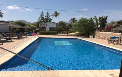 Photo for 2BR Mobile Home Vacation Rental in Aguilas