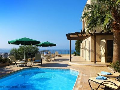 Photo for Villa Naxos - Stunning Private Villa with Amazing Views