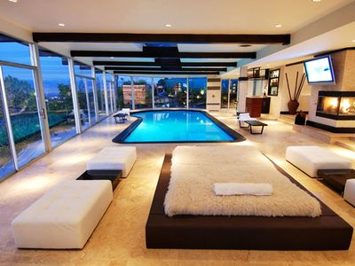 Photo for Designer Indoor Pool House