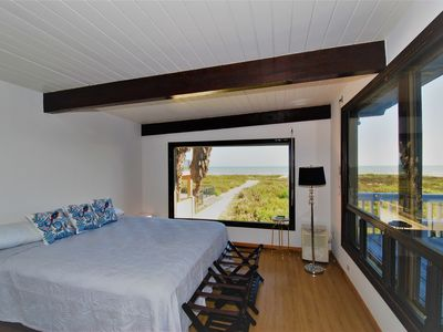Photo for Private Beach Home/Large balcony overlooking the beach. Perfect beach retreat in South Padre Island