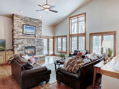 Photo for Gorgeous Home with Private Seasonal Shuttle-Perfect Retreat for Summer Families!