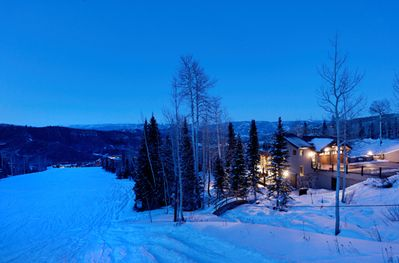 Beautiful private setting with unrivaled ski access
