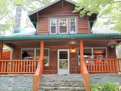 Photo for Bear Cub Cabin*Pet Friendly*Fire Pit*Walk to Town*WiFi*Discounts through June