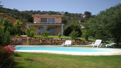 Photo for BEAUTIFUL VILLA WITH POOL AND SEA VIEW