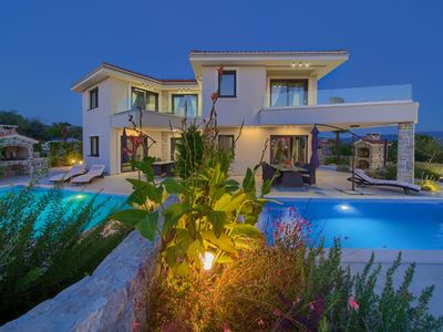 Photo for Modern and luxury holiday home in Krk, Island Krk, Croatia  with private pool for 6 persons