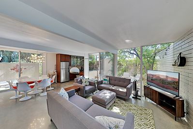Living Room - Welcome to Palm Springs! This villa is professionally managed by TurnKey Vacation Rentals.