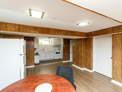 Photo for Big Bedroom with two open big windows in the basement