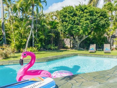 Photo for *15% discount on August Stays* Hale Niuiki - Beautiful home with a private pool!