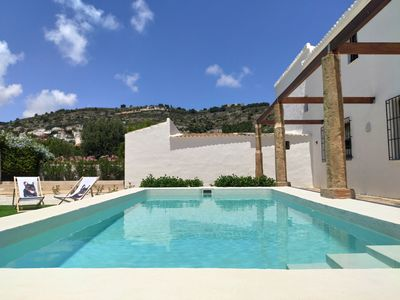 Photo for Mediterranean Villa between the sea and the mountains