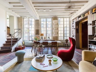 Photo for Beautiful Loft on Rue Quincampoix