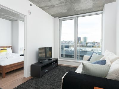 Photo for Sonder | Place des Arts | Bright 1BR + Balcony