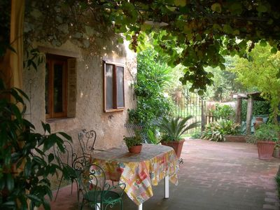 Photo for Rustico with beautiful garden. Panoramic quiet location.