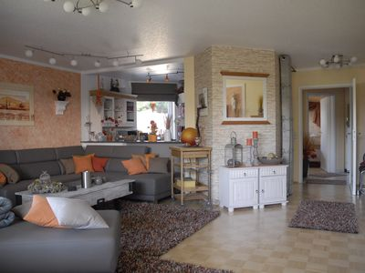 Photo for Comfort holiday apartment No. 1, with balcony, 70 m², quiet location on the spa park, free Wi-Fi