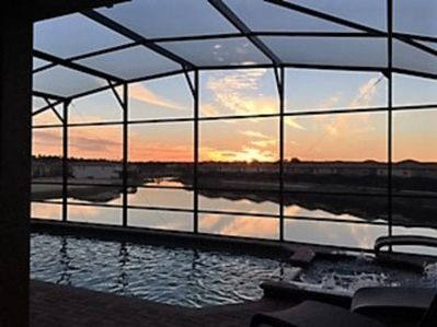 relax in the spa and watch fabulous sunsets - who will take the best picture?