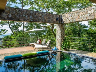 Photo for Ocean Views & Hanging Beds! Villa Tanager - Jungle Getaway with Sloth Visits!