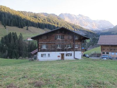 Photo for Apartment Gilbachhöckli 2 in Adelboden - 7 persons, 3 bedrooms